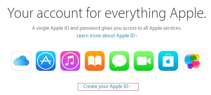 How to register an Apple ID?
