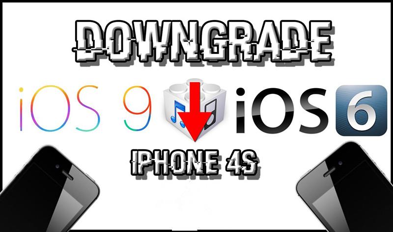 iPhone 4s – Downgrade iOS 9.3.5 to iOS 6.1.3 After Phoenix Jailbreak