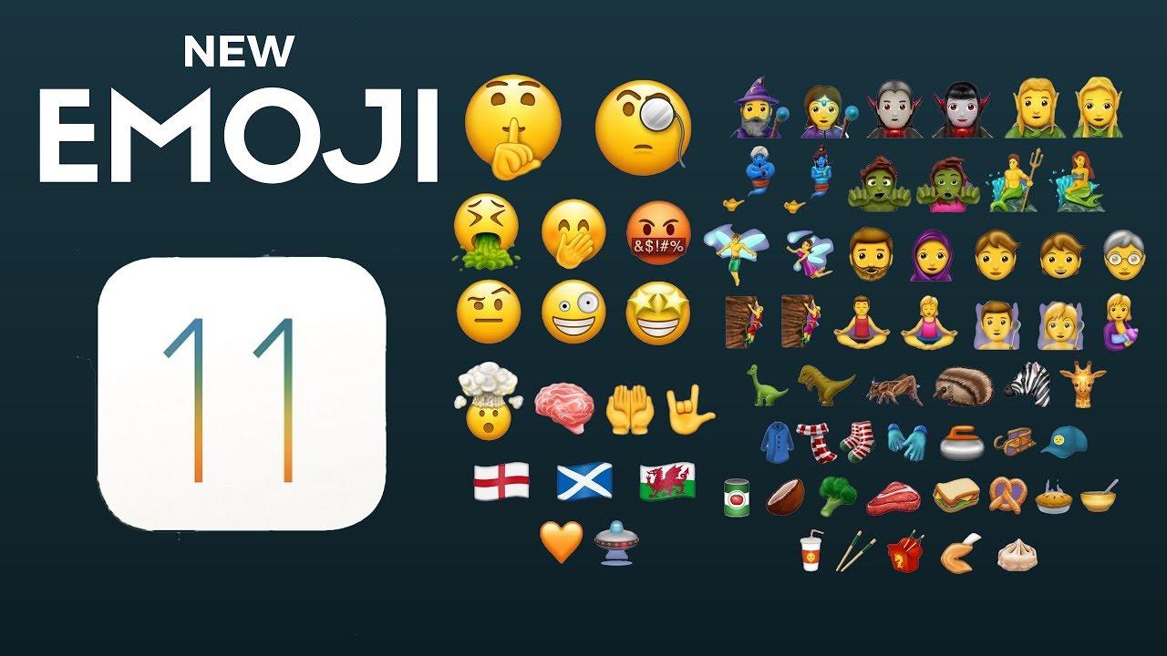 How to Get iOS 11 Emojis on iOS 10?