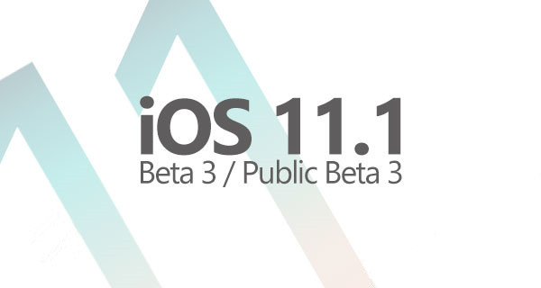Download: iOS 11.1 Beta 3 Now Available In 3uTools