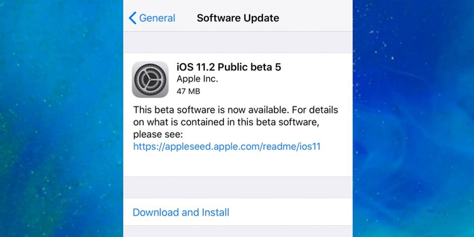 Download iOS11.2 Beta5 in 3uTools