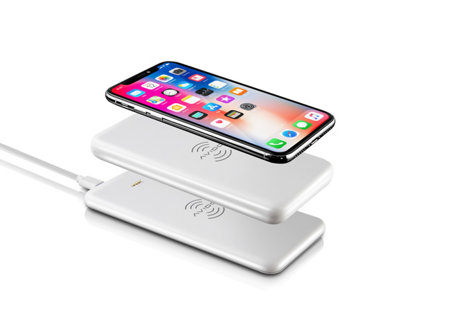 WiBa Wireless Charging System Uses Qi Charging to Recharge iPhone X on the Move