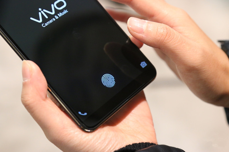 This is How the First Phone With a Fingerprint Sensor Under the Display Works
