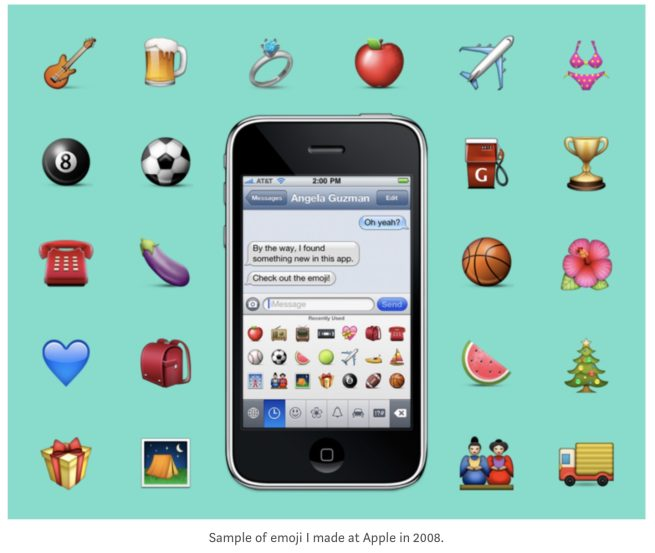 How An Apple Intern and Her Mentor Created Apple's First 500 Emoji
