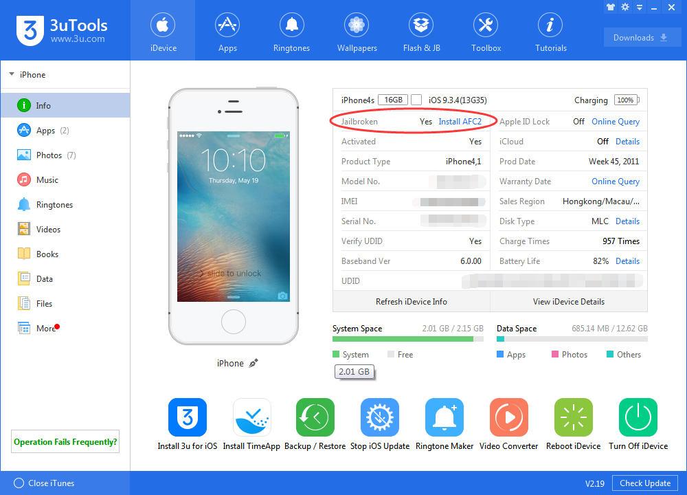 How to get iOS 9.1- iOS 9.3.4 Untethered Jailbreak for all 32bit iOS Devices?