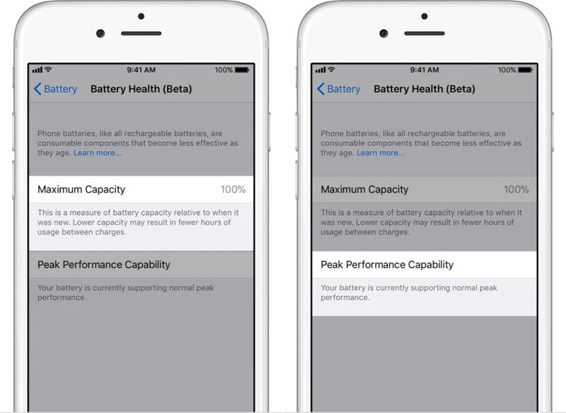 How to Check Battery Health in iOS 11.3 Beta?