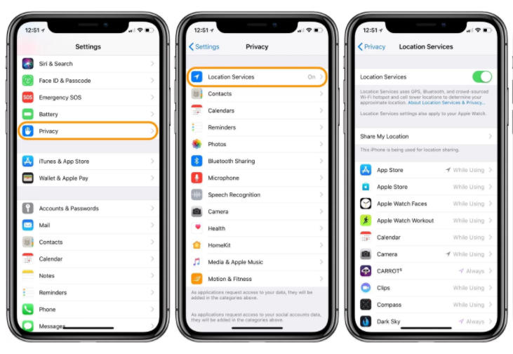 How to Quickly Share Your Current Location on iPhone?