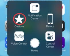 How to Create a Custom Gesture in iPhone 7?
