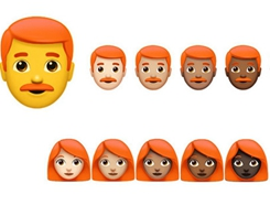 Unicode Committee Discuss Addition of Redhead Emoji at Apple Campus