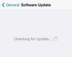 How To Reopen iOS Software Update Notification?