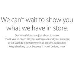 Apple's Online Store To Go Down Tomorrow, New Products Imminent?