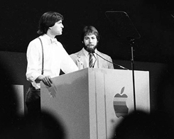 Rare Photos Reveal Apple keynote Progenitor