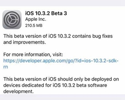 How to Update iPhone to iOS 10.3.2 Beta3 from 3uTools ?