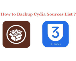 How to Backup iOS 9 Cydia Sources List Using 3uTools?