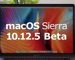 Apple Seeds Fifth Beta of macOS Sierra 10.12.5 to Developers