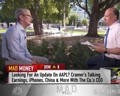 Apple CEO Tim Cook Announces $1B Fund for Advanced Manufacturing Jobs on CNBC's Mad Money