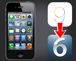 iPhone 4s – Downgrade iOS 9.3.5 to iOS 6.1.3 After Phoenix Jailbreak
