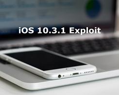 10.3.1 Exploit  May Allow iOS 10.2 Downgrade and Jailbreak