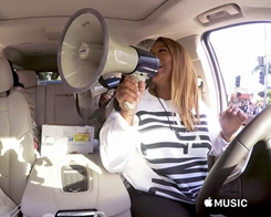Apple Shares 'Carpool Karaoke' Ads Featuring Queen Latifah, Cyrus Family