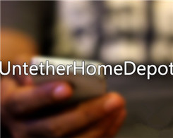 UntetherHomeDepot for iOS9.1-9.3.4 Jailbroken iDevice