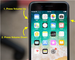 How to Force Restart iPhone 8/ iPhone 8 Plus/iPhone X?