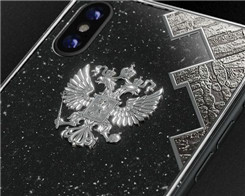 Caviar's $4,500 iPhone X Is Made of Titanium And Meteorite