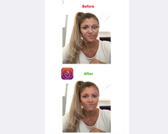 SelfieTime Face Smoothing Filter in Camera app