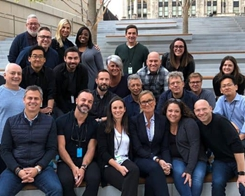 Angela Ahrendts is in Chicago for Flagship Apple store Opening