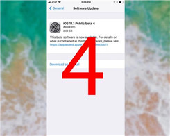 iOS 11.1 Beta 4 Now Available In 3uTools