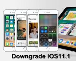 How to Downgrade iOS 11.1 to iOS 11.03/11.0.2/11.0.1?