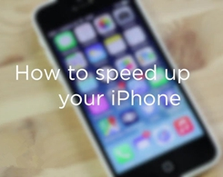 How to Speed Up a Slow iPhone?