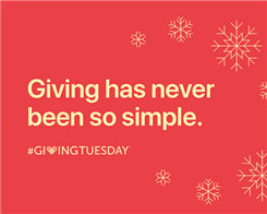 Apple Highlights Apple Pay Charity Resources For 'Giving Tuesday'