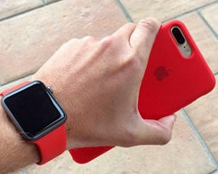 Apple Watch Sport Band And iPhone X Silicon Case Gets New And Matching Colors