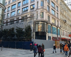 Construction of First Vienna Apple Store Accelerating Ahead of Rumored January Opening