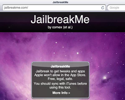 JailbreakMe-Style Jailbreak For 32-Bit Devices Shown Off On Video By Tihmstar