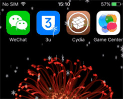 Snoverlay - See the Raining Snowflake Effect on Home Screen Or Lock Screen