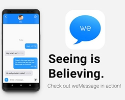 Android App 'weMessage' Lets You Get iMessages on Your Android Smartphone With a Mac