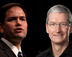 Marco Rubio Slams Tim Cook for Apple's 'Desperate' Relationship with China
