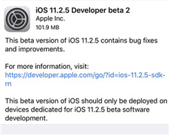 How to Download iOS 11.2.5 Developer Beta 2 to Your iPhone or iPad?