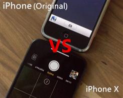 iPhone X vs. Original iPhone: How far has the camera come?