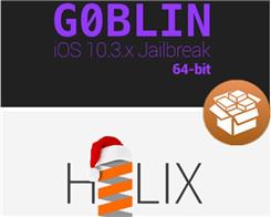iOS 10.3.3 H3lix & G0blin Compatible Tweaks