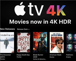 New 4K UHD Movies on Apple TV, And a Move for Cheaper Compression