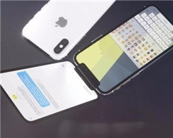 iPhone X Flip: iPhone X Clamshell with Two Screens