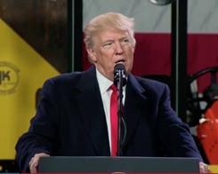 Trump Thanks Tim Cook for Apple's $350 Billion Bonanza