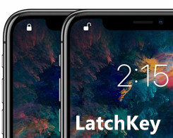 LatchKey: Change the Position of iPhone X's Lock Symbol