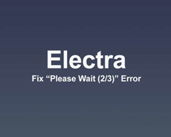 "How to Fix Stuck on ""Please Wait (2/3)"" Electra Error During iOS 11 Jailbreak?"