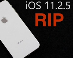 Apple Stops Signing iOS 11.2.5 Firmware for iPhone & iPad
