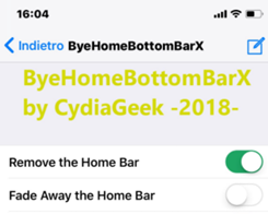 This Tweak Hides the Home Bar at the Bottom of the iPhone X