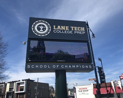 Apple Starts Setting up for March 27 Education Event at Lane Tech High School