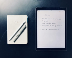 How to Replace a Paper Notebook with your iPad?